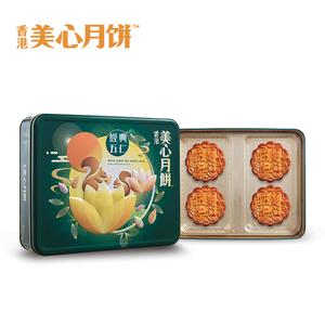 香港美心月饼礼盒经典五仁高档礼盒